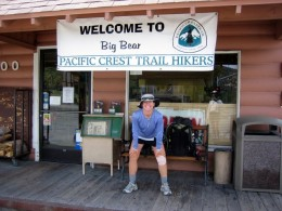Businesses in Big Bear City - and many other towns near the Pacific Crest Trail - reach out to the hiking community.