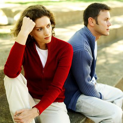 Reality check - couples do grow apart,the real question is do you tough it out and try to re-establish the connection or do you get out of the relationship?