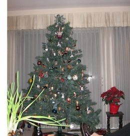 Not the most finely decorated tree