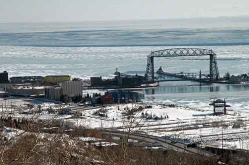 Duluth, home town its all down hill from here