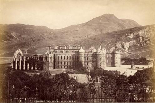 Holyrood circa 1878.