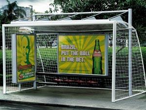 The football goal