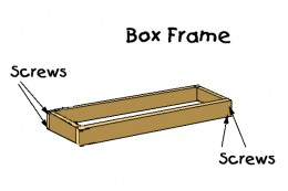 Construct the 2x6 frame