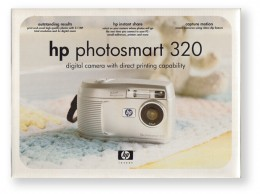 hp photosmart 320 digital camera a whopping 2.1 MP