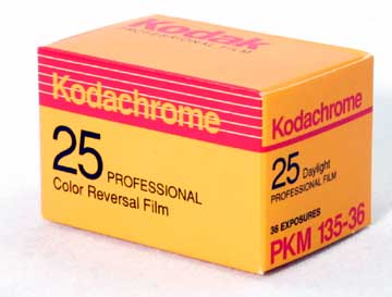 Kodachrome Slide film : no longer