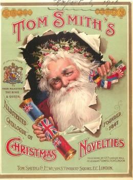 Tom Smith Christmas Crackers - 1916 Catalog Cover