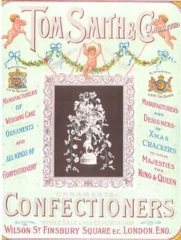 Tom Smith Christmas Crackers - 1922 Catalog Cover