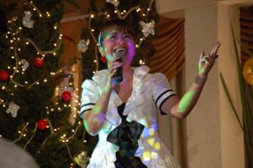 Ruth Sahanaya in City Transform Christmas Celebration in Bandung