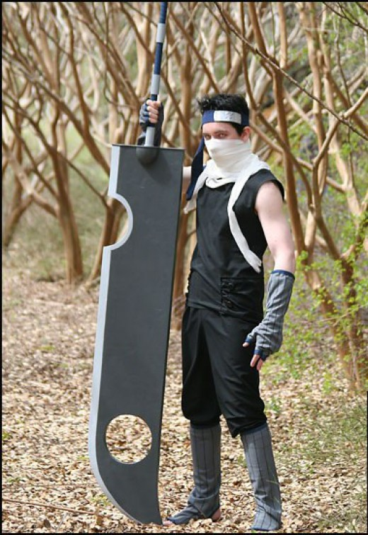 Naruto cosplay Zabuza Zabuza Sword Cosplay