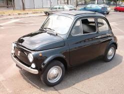 Classic Fiat 500 Car