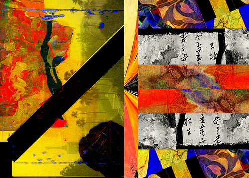 """""""What Matters Most"""" painting collage by Regorio"""