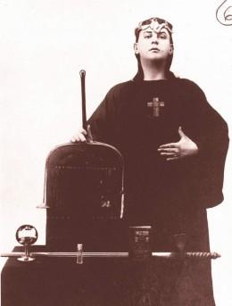 Crowley in Satanic Verse.