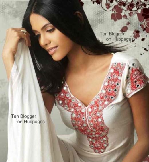 Natasha Suri - what a beauty -very sexy salwar kameez