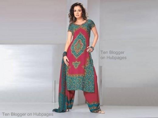 Dia Mirza - hot in salwar kameez