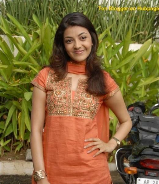 South model - Aaditi in pretty salwar