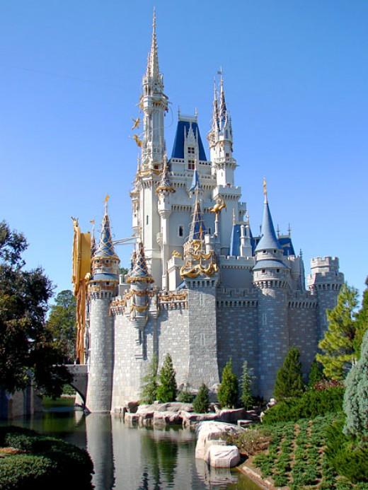 Cinderella's Castle at Disney World Orlando Florida
