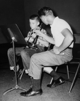 Trombone lesson