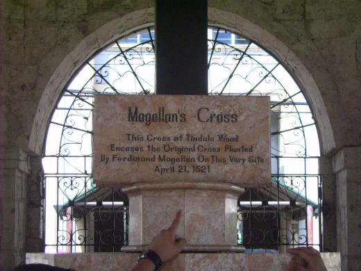 Magellan's Cross Inscription