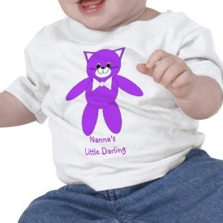 Nanna's Little Darling - Baby's T Shirt