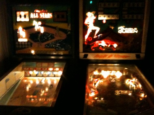 Jungle Queen and Baseball Pinball