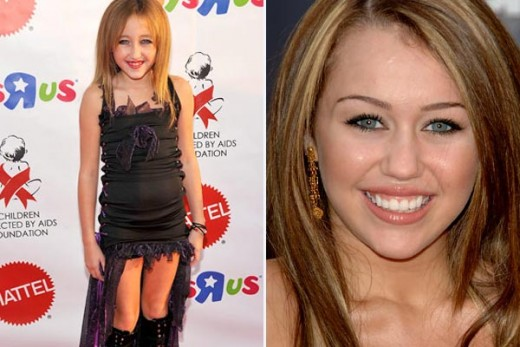 Famous Kids: Noah Cyrus And The Vampire Look