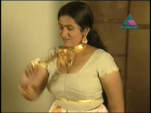 sexy and beautiful aunties from malayalam serials
