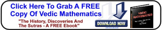 Click Above For FREE Vedic Math Ebook