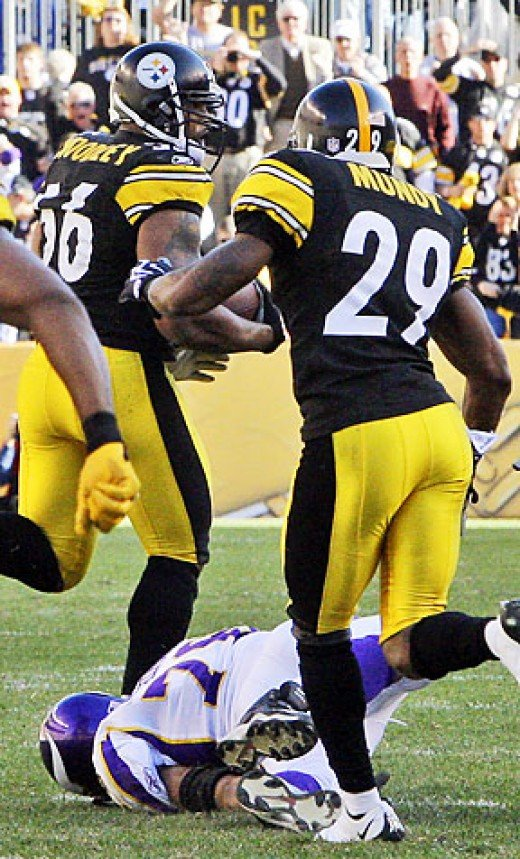 The Steelers defense stepped all over the Vikings in the fourth quarter