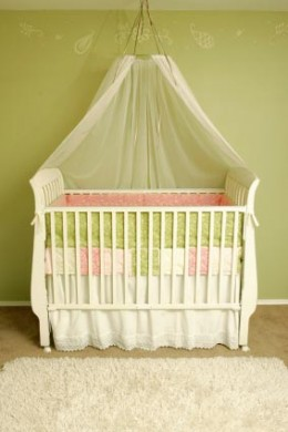 Convertible Canopy Crib - Baby Products - Baby Clothes, Baby