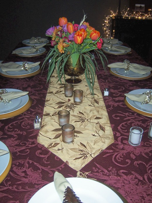 2008 Table Decoration for Thanksgiving!