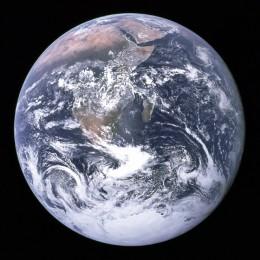 Big Blue Marble (courtesy NASA)