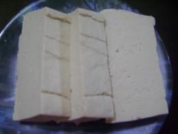Uncooked Tofu or Tokwa