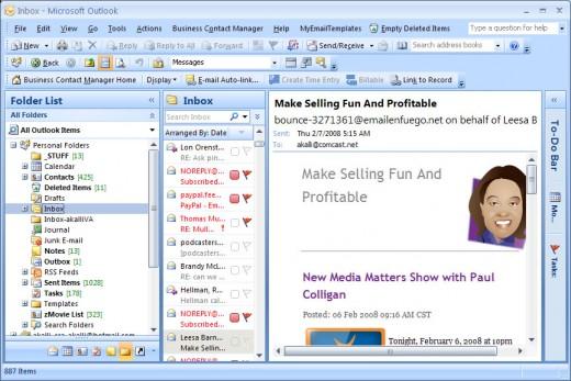 Microsoft office outlook 2007 скачать бесплатно