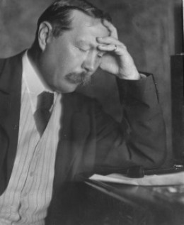 Sir Arthur Conan Doyle 1912