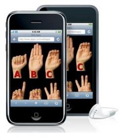 iSign Alphabet iPhone App