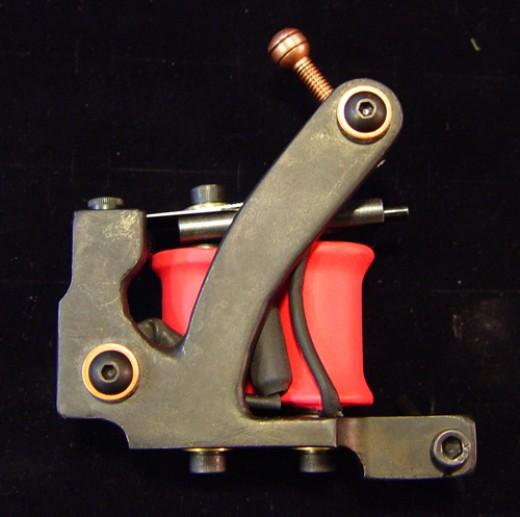 Handmade Iron Tattoo Machine by Chuck Kail at Mojomachines.com