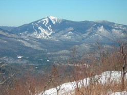Whiteface Mountain and Mount Esther seen from Jay Ridge