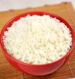 White Andhra Rice.