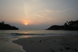 Sunset from the Thailand Island of Koh Samui