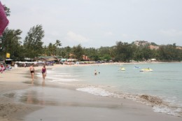 Great beach on the Thailand Island of Cheong Mon
