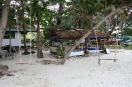 My hut on the beach!