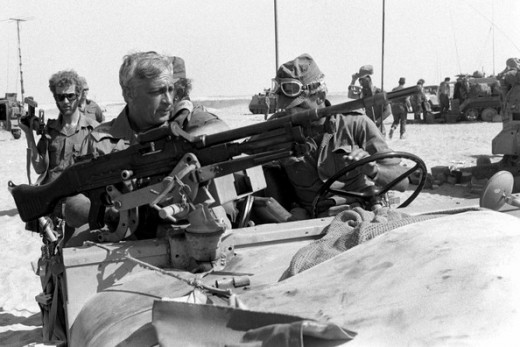 ARIEL SHARON IN YOM KIPPUR WAR OF 1973