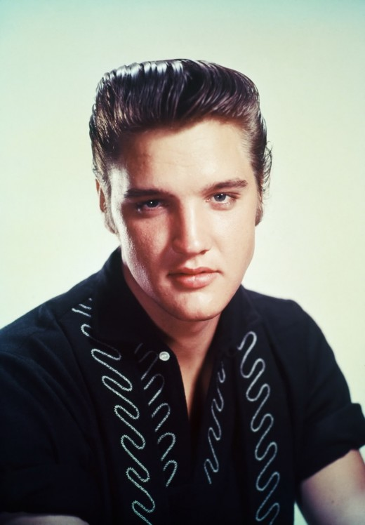 Elvis Presley's Rockabilly hairstyle