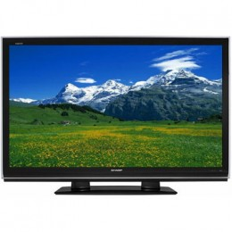 52-inch Sharp Aquos LCD TV
