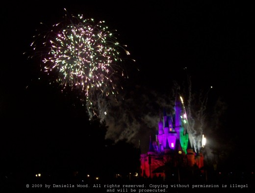 A breathtaking end to a magical day in Walt Disney's Magic Kingdom, Florida