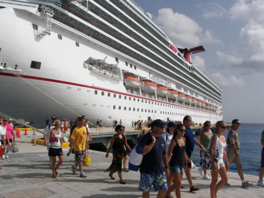 Carnival Ship Glory Cozumel, Mexico