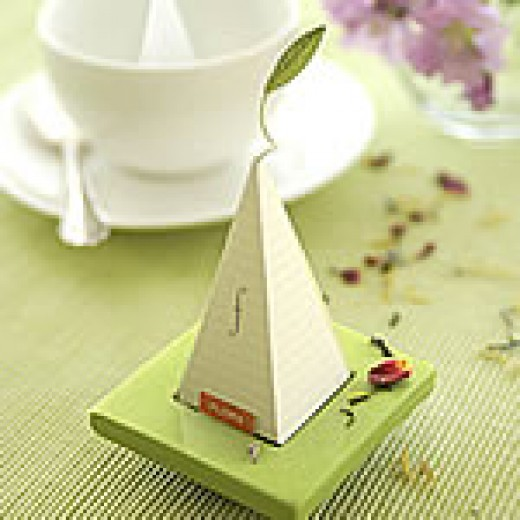 Tea bag wedding favors beau-coup.com