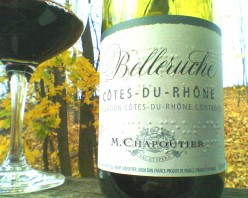 Drink From A Jar Wine Review:  Buy A French Wine That Celebrates The Blind, Belleruche Cotes-Du-Rhone