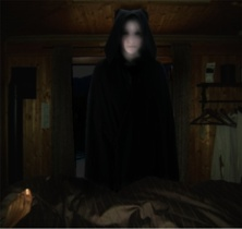 You just never know when the supernatural is going to pay you a visit. Sleep tight, don't let the bed bugs bite!