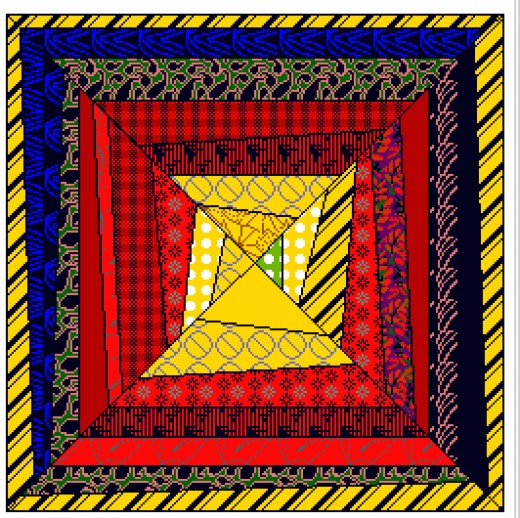 Created Using Quilt Design Software